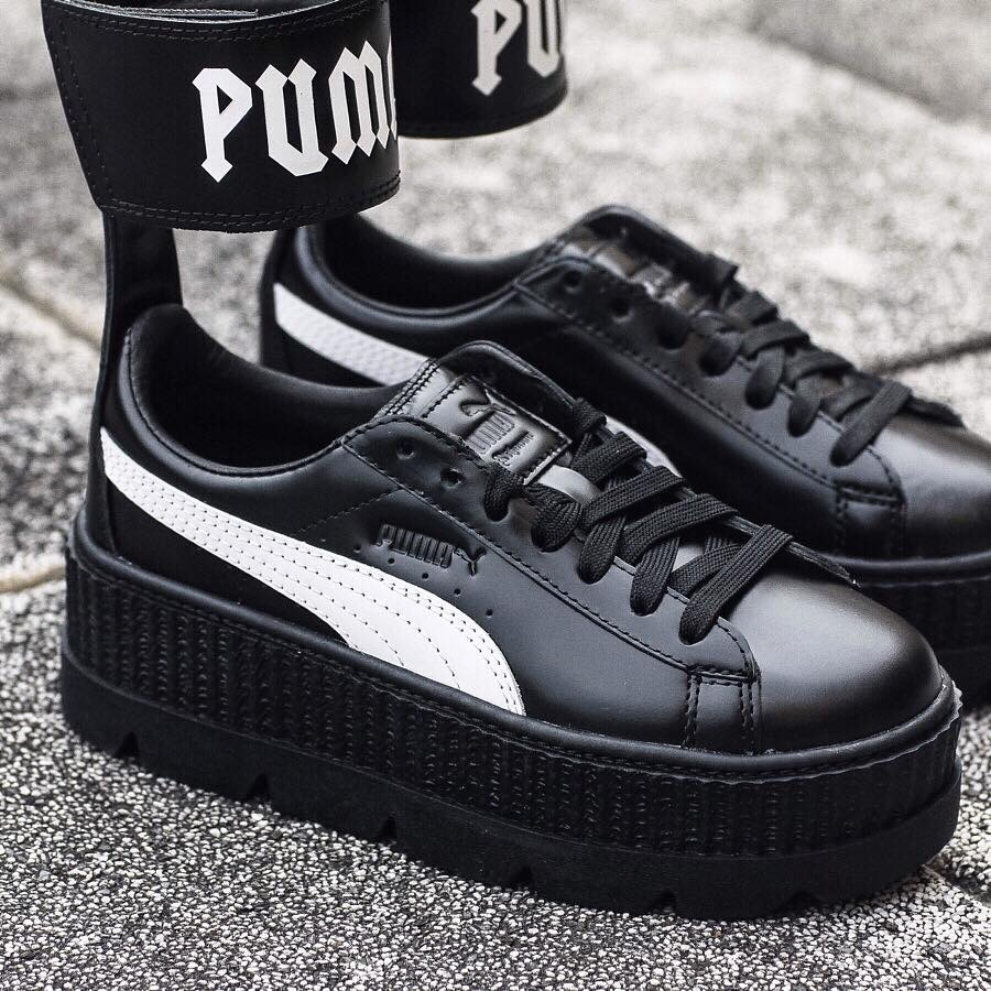 detailed look b4c00 7755a Tenis Puma X Fenty Cleated Ankle Strap Creeper 22mx