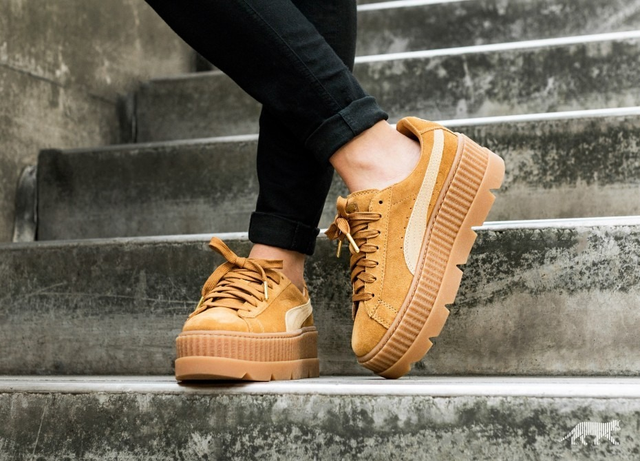 buy online 9dcdc e871f Tenis Puma X Fenty Cleated Creeper Suede 36626802 23mx