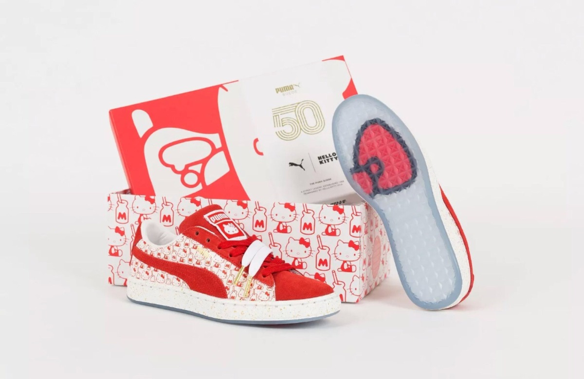 new product d8583 99732 tenis puma hello kitty