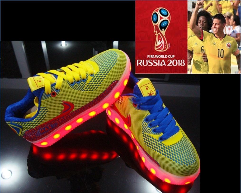 87c8a8e9 tenis recargables led luminosos zapatos colección colombia. Cargando zoom.