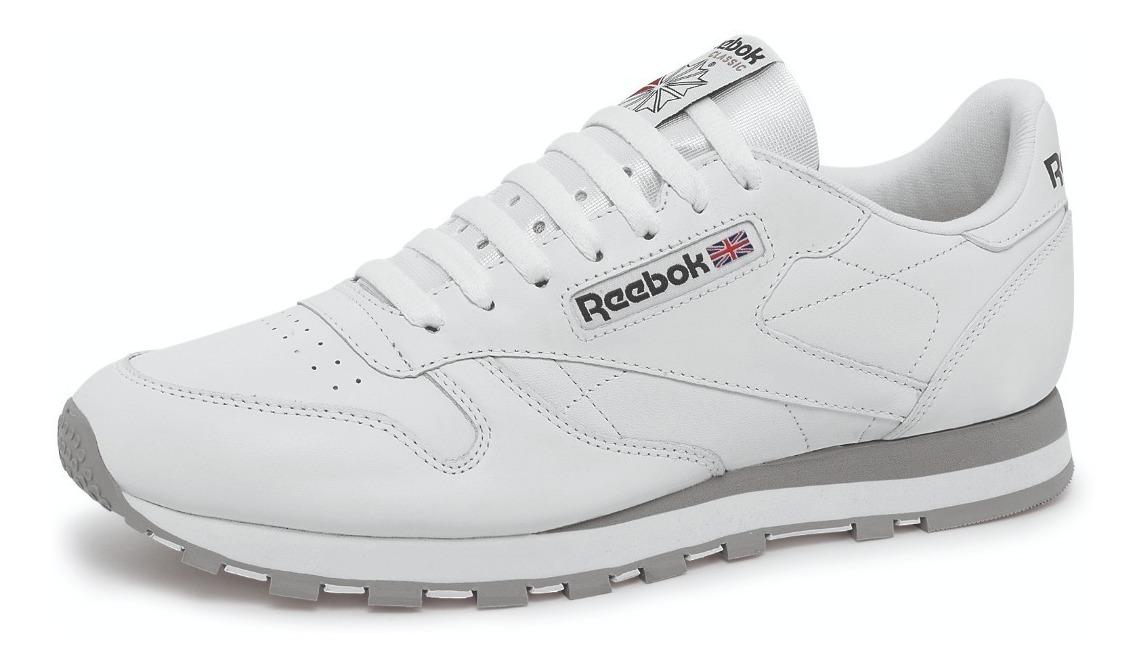 ef8f1637fe Tenis Reebok 2214 Blanco/gris Para Hombre - $ 1,559.00 en Mercado Libre