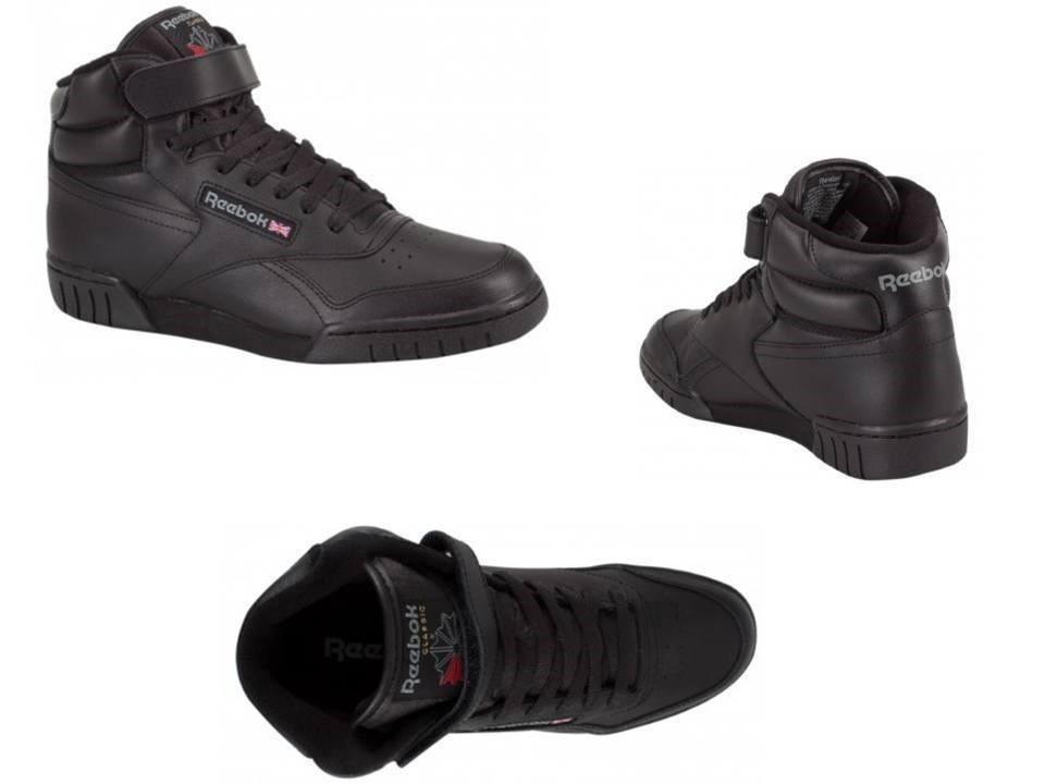 f4085744d03 tenis reebok bota negra 100% original clasica piel genuina. Cargando zoom.