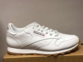 Tenis Reebok Classic Leather Blanco