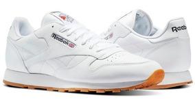 Tenis Reebok Classic Leather Blancos Envio Gratis