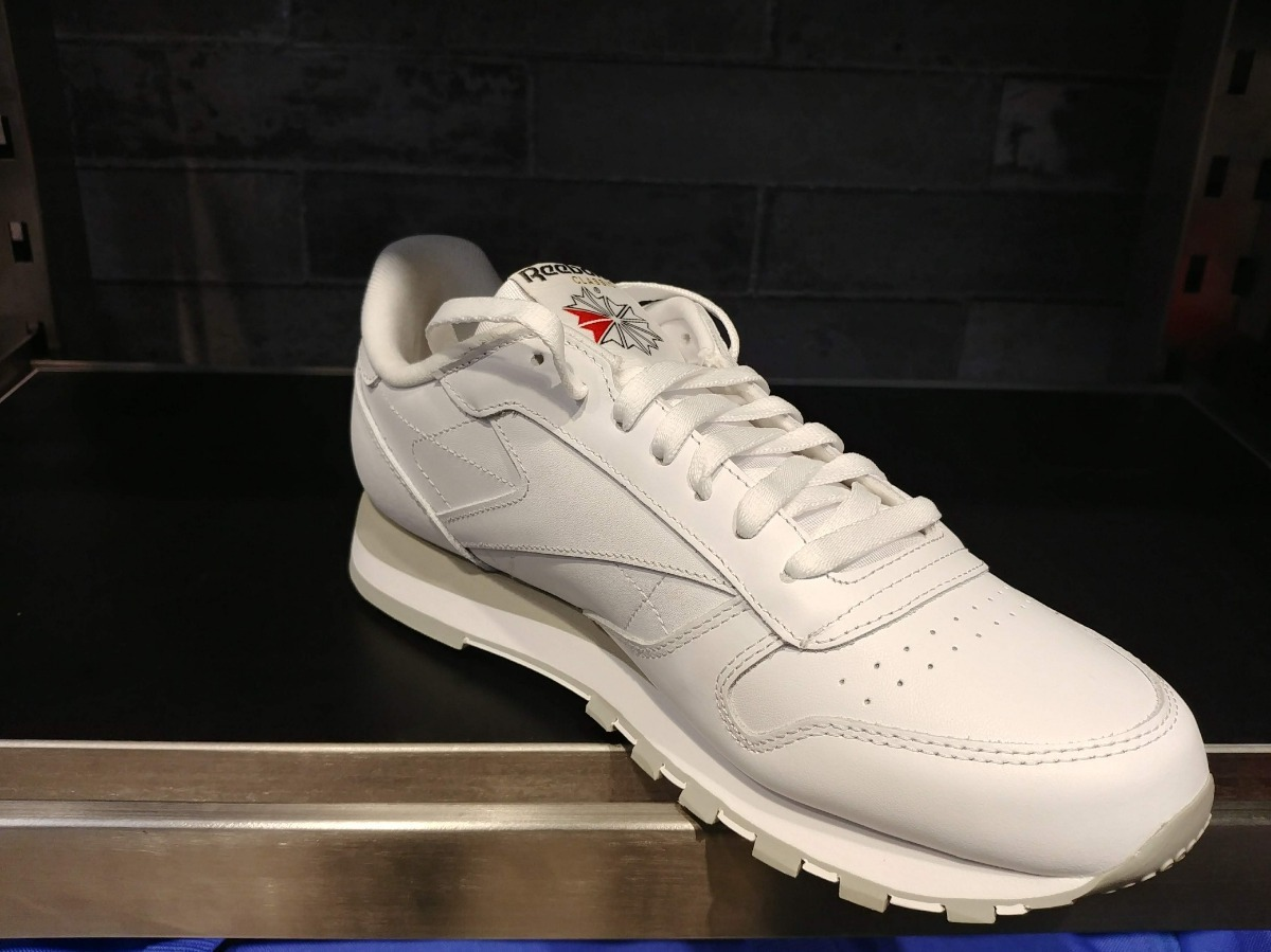c4c248b9f079d tenis reebok classic leather blancos pocas piezas cuero piel. Cargando zoom.
