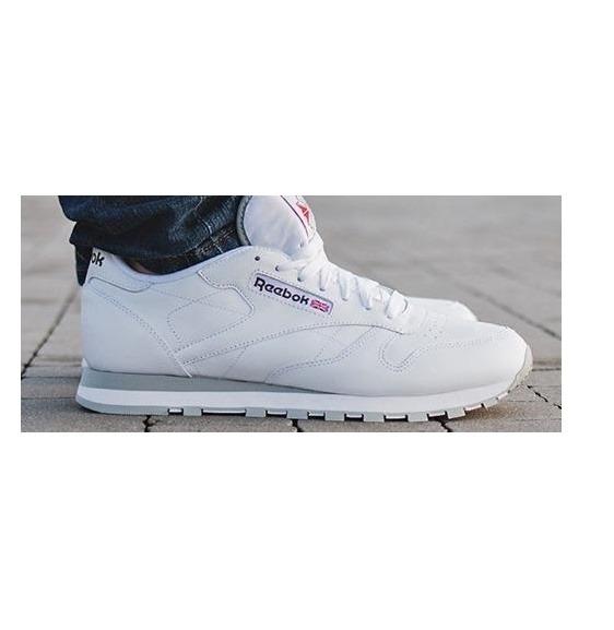 e6a1a7b0e15e4 Tenis Reebok Classic Leather Blancos Pocas Piezas Cuero Piel ...