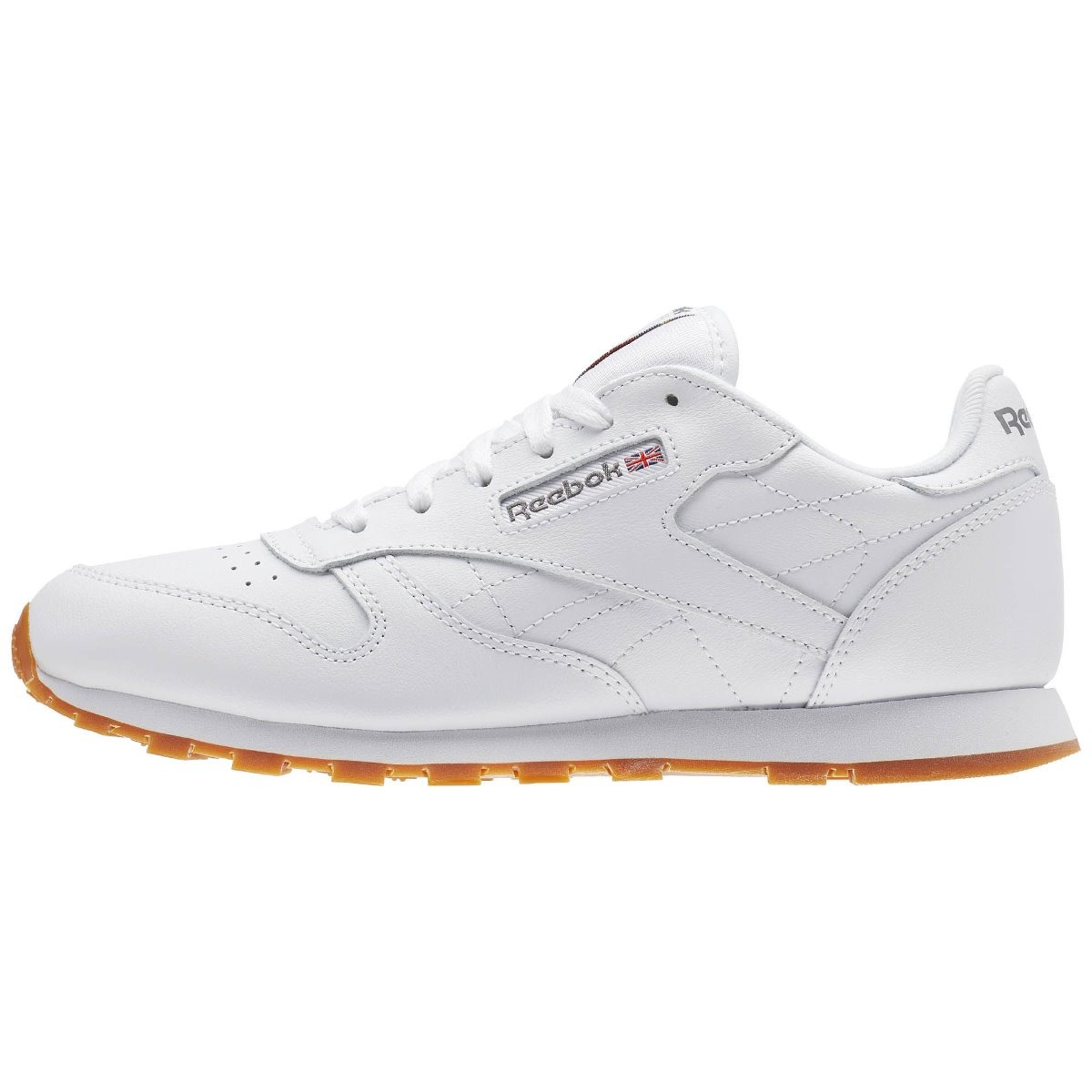 3f0ff35df9428 Tenis Reebok Classic Leather Branco 34 35 36 37 Original - R  299