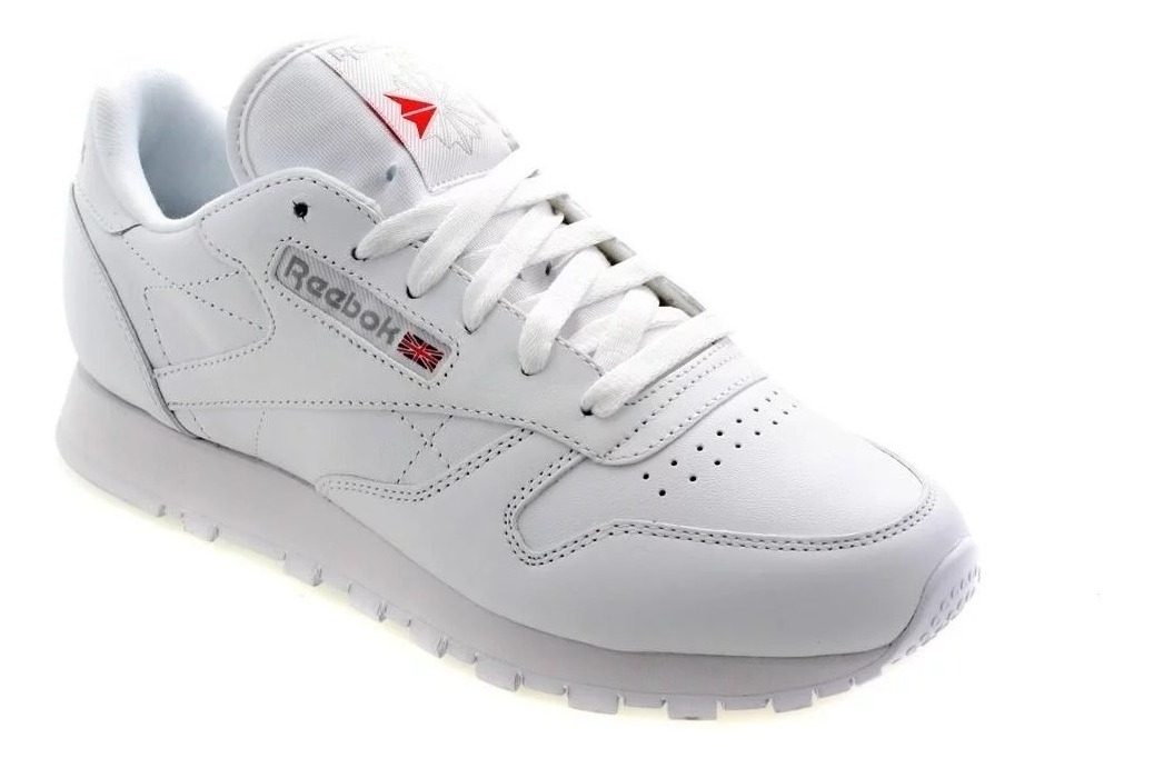 Tenis Reebok Classic Leather | Hombre | Blanco Original 2232
