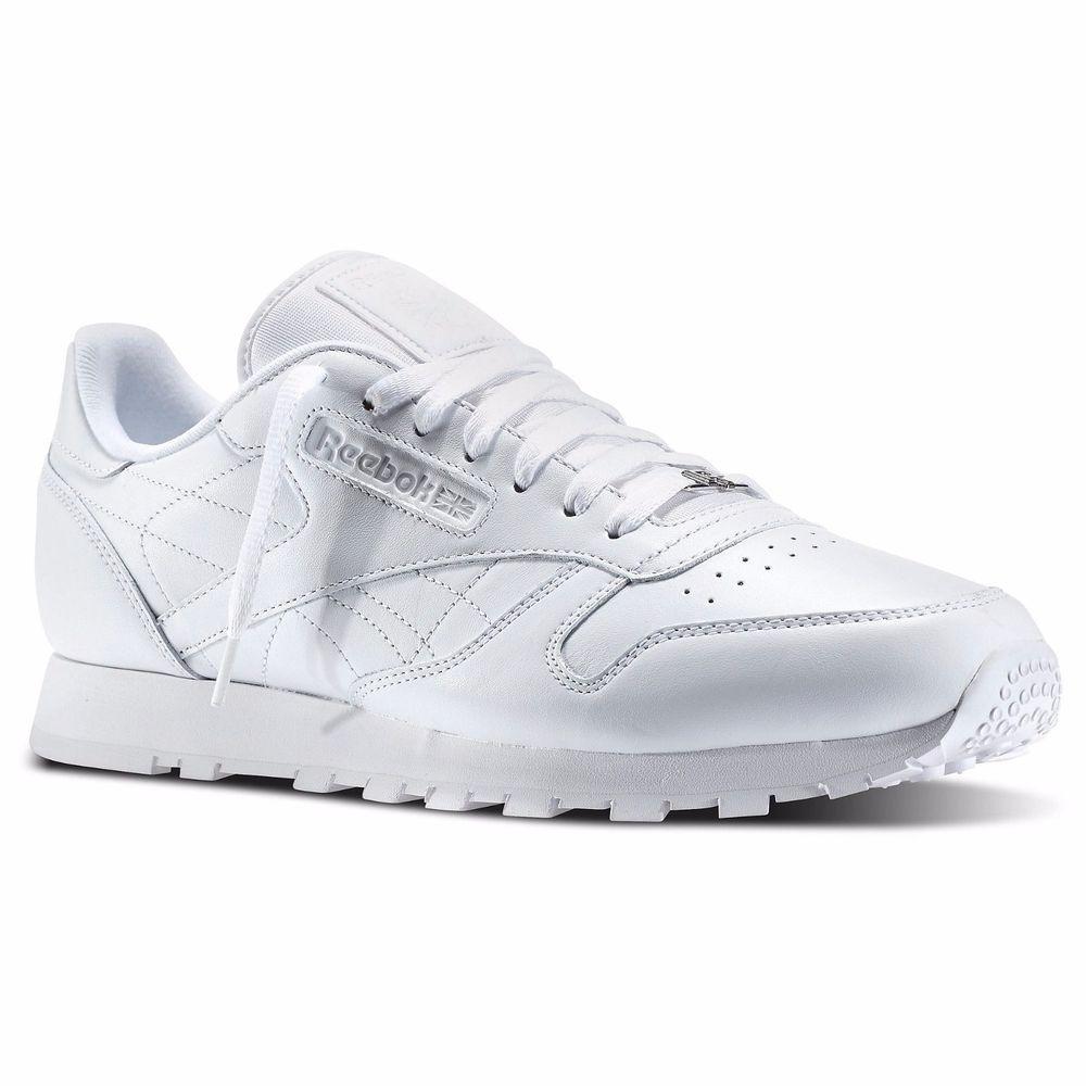 tenis reebok classic leather j90139 originales total blancos. Cargando zoom. 64c3d5b86