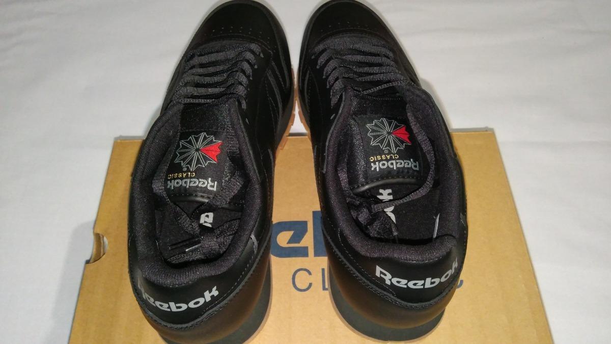 fb15555431cb3 tenis reebok classic leather negro originales retro vintage. Cargando zoom.