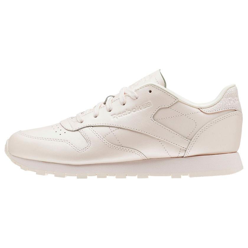tenis reebok classic leather rosa pale mujer originales. Cargando zoom. 8583bdca4110d