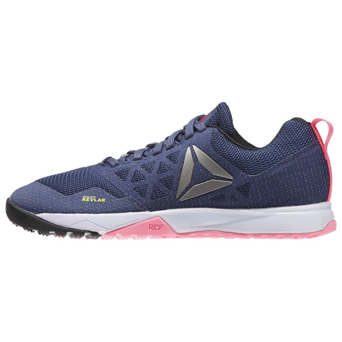 tenis reebok crossfit nano 6.0 azul feminino ar3301 kevlar. Carregando zoom. 233463a2ea7e9