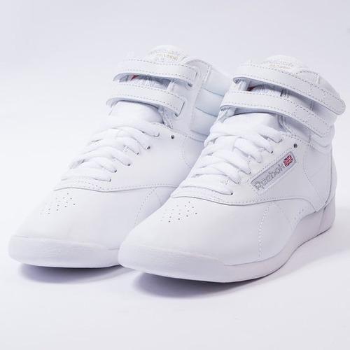 fe734366e869e tenis reebok princess bota blanca mujer piel original 2431. Cargando zoom...  tenis reebok mujer
