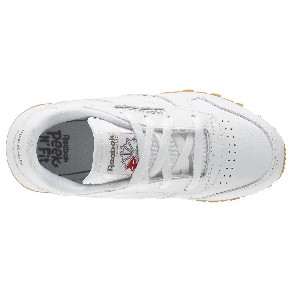9c5513679ea tenis reebok classic leather blanco infantil niño 2018. Cargando zoom... tenis  reebok niño. Cargando zoom.