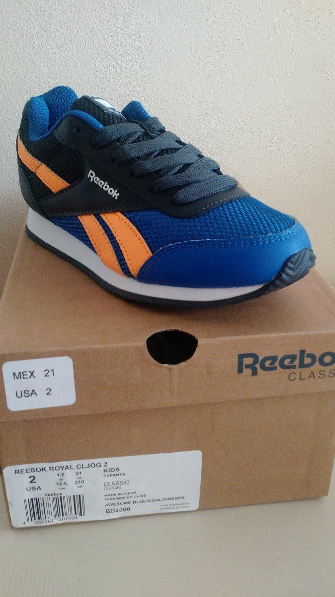 61f9704d6f193 Tenis Reebok Niño Royal Classic Jogger 2.0 Talla 21 -   749.00 en ...