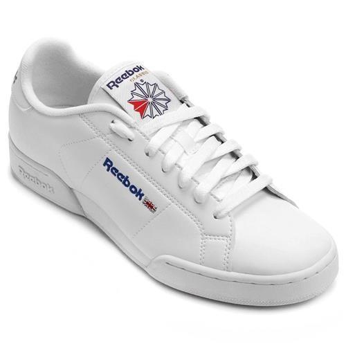 Tenis Reebok Npc Ii Branco 100% Original - R  236 b4c5c2cd92710