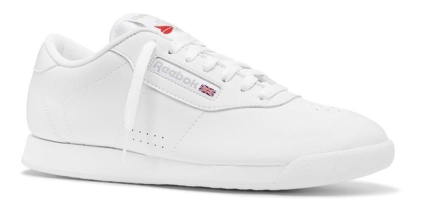 simplemente electrodo Volverse  Tenis Reebok Princess Clasicos Blanco Original Para Mujer - $ 281.997 en  Mercado Libre