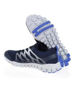 0828888ea Tenis Reebok Realflex 4.0 Hombre Run Train Azul Gym Original