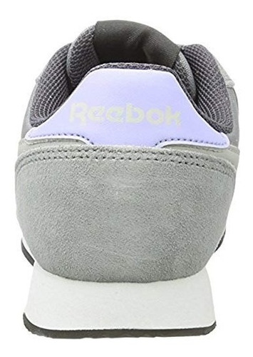 tenis reebok roya cl jog gris unisex original bs7009