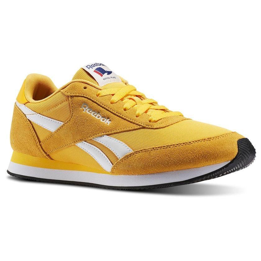 9b2b0fef21 tenis reebok royal classic jogger 2 hs amarillo caballero. Cargando zoom.