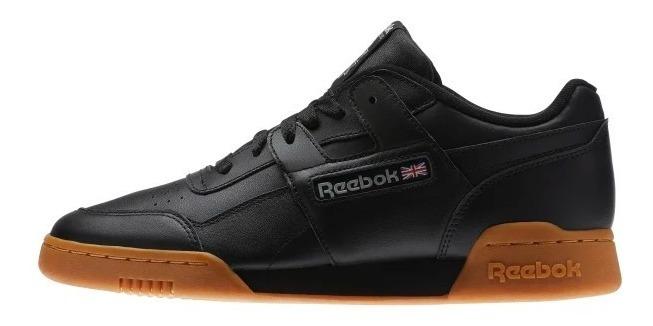 Tenis Reebok Workout Plus Men Classic Negro Goma Talla 25.5