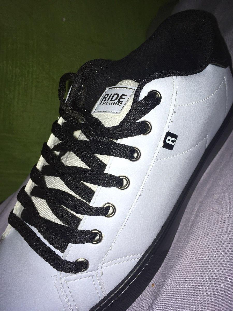 600341b7f94 tenis ride skateboard novo branco. Carregando zoom.
