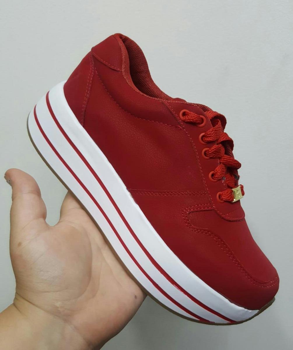 retro nuevo concepto 100% de alta calidad Tenis Rojos De Colores Zapatos Y Calzados De Moda Para Dama