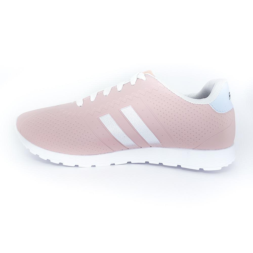 2f3c6d8df6 tenis rosa feminino - listra branca - casual - na moda. Carregando zoom.