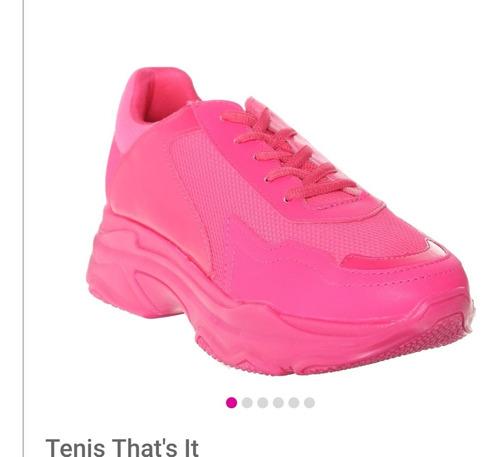 tenis rosa fiusha that's it