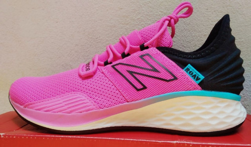 tenis rosas mujer new balance fresh foam roav v1