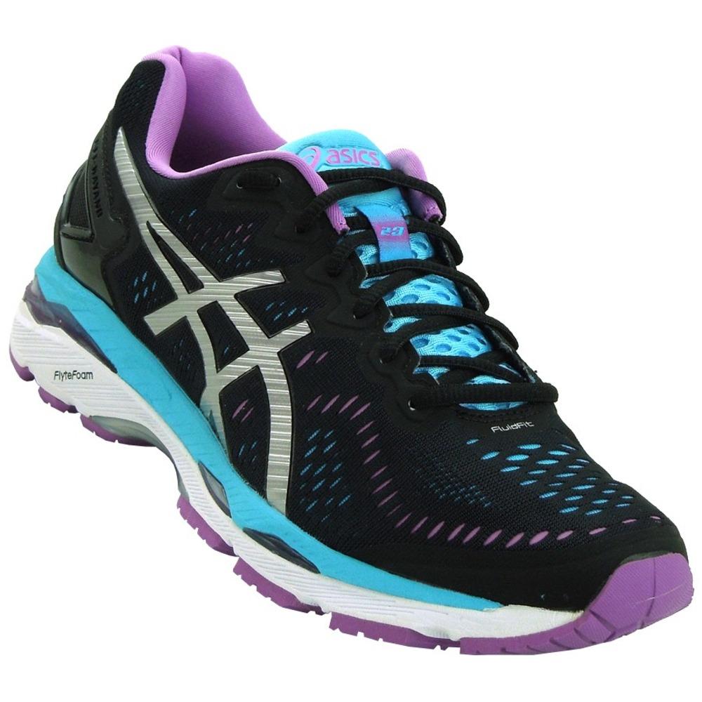 2fea0dd152 Tenis Run Feminino Asics Gel Kayano Preto E Purple - R$ 699,90 em ...