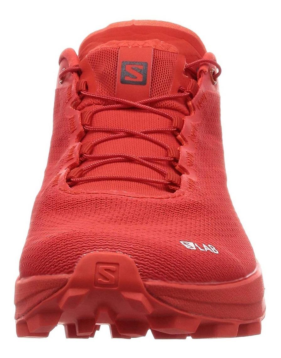 competitive price 53bf8 dc426 Tenis Salomon Unisex Trail Running Slab Sense 7 Sg Rojo