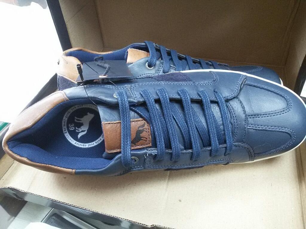 14f328cd9e4 tenis sapatenis acostamento original couro azul marinho. Carregando zoom.