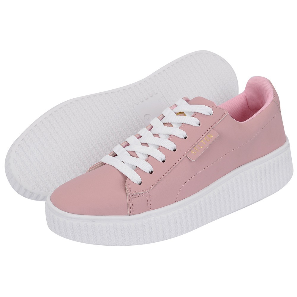 6139089b0b1 tenis sapatenis feminino academia casual barato skate rosa. Carregando zoom.