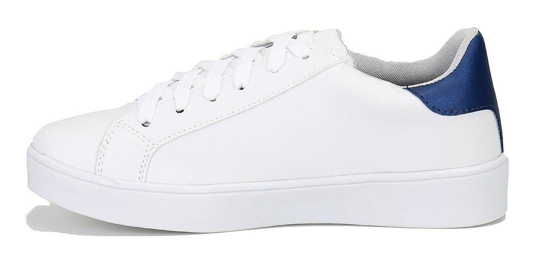62316ac59 tenis sapatenis feminino bordado branco prata confortável dh. Carregando  zoom.