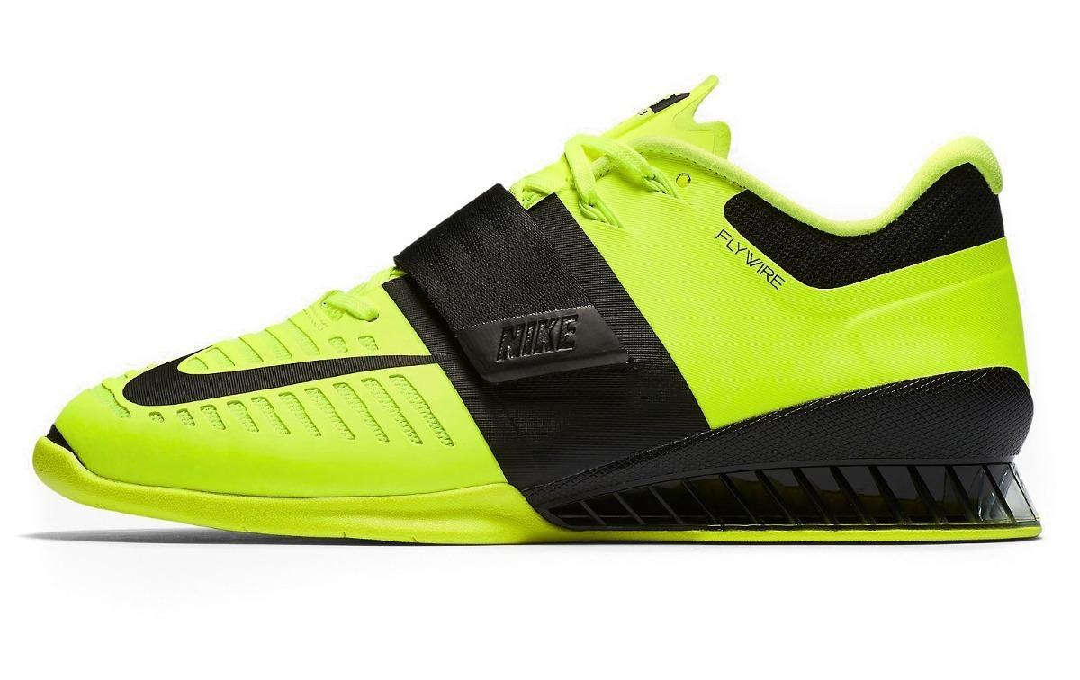 good lowest discount uk cheap sale Tenis Sapatilha Nike Romaleos 3 Powerlift Lpo Volt/black 12x