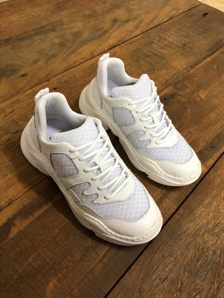 c0e80f3ee56 Tenis Schutz Chunky Sneaker Branco Feminino