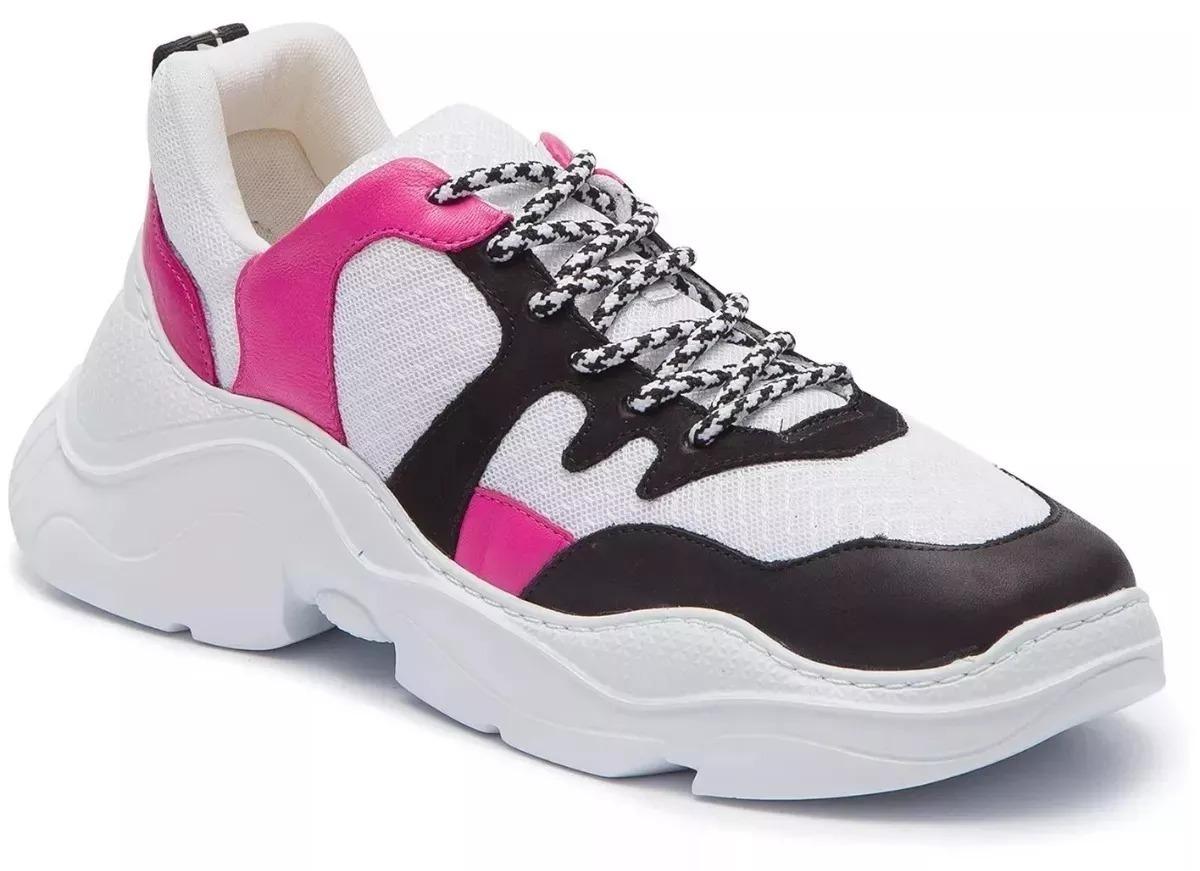 5ca293ae52a Tenis Schutz Feminino Chunky Sneaker S.95-18 Promoção! - R  219