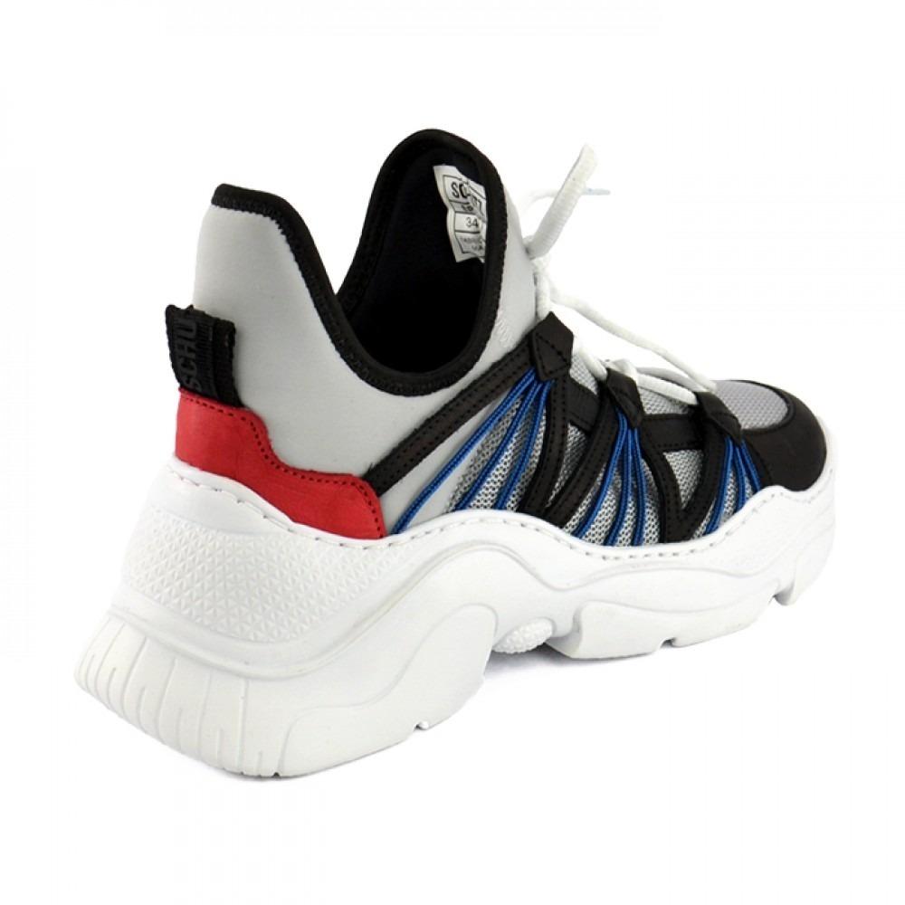 8490cff1a53 Tenis Schutz Feminino Chunky Sneaker S.95-18 Super Leve Azul - R ...