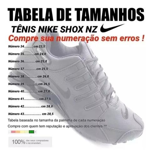 tenis shox nz 4 molas - promoção 12x sem juros-frete gratis!