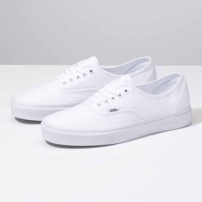 Tenis Skate Vans Original Authentic Blanco
