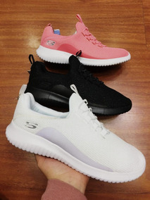 Tenis Skechers Air Cooled Blancos Mujer, Zapatillas.