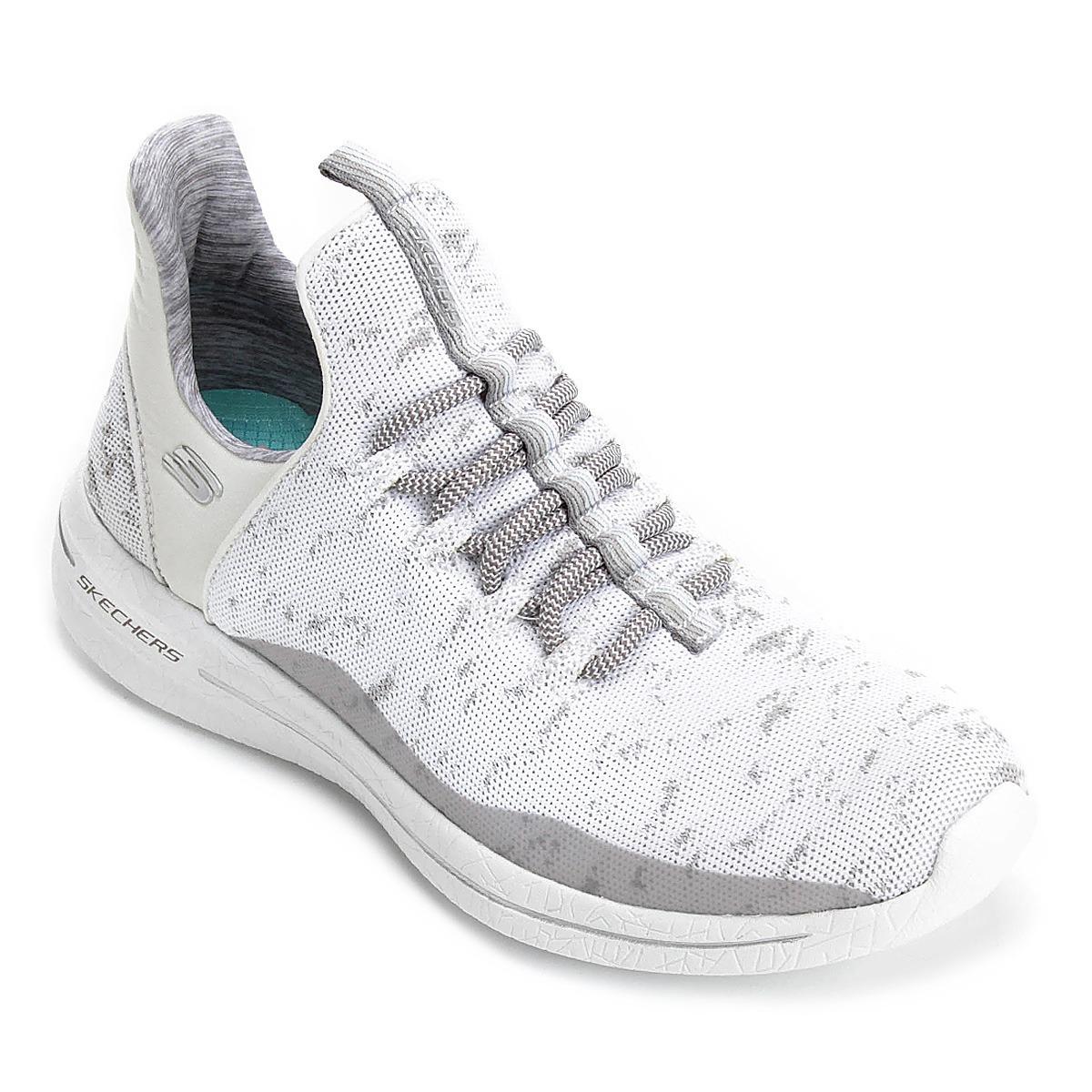 3f56bd4c3c9 Tenis Skechers Burst Walk New Avenues Original Feminino - R  349