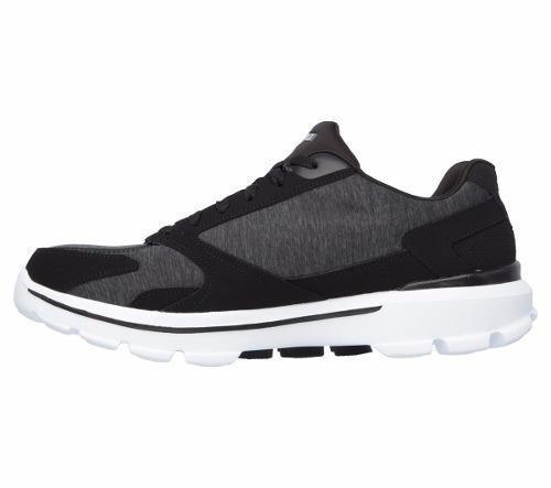60b789d88e Tenis Skechers Go Walk 3 Masculino 54060-bkw Original + Nfe - R  229 ...