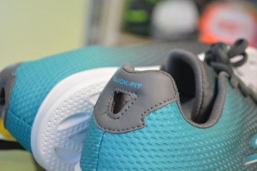 tenis skechers goga max talla 24.5 mx originales