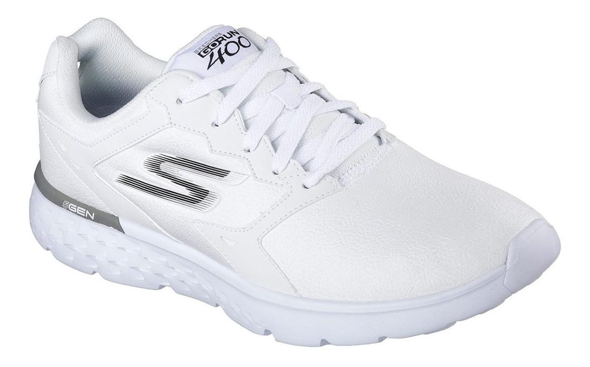 garantía de alta calidad 100% autenticado nuevo alto Tenis Skechers Goga Run Hombre Blanco Envío Gratis! 54800 ...