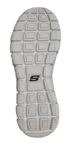 tenis skechers hombre 52631/bubk track scloric memory foam
