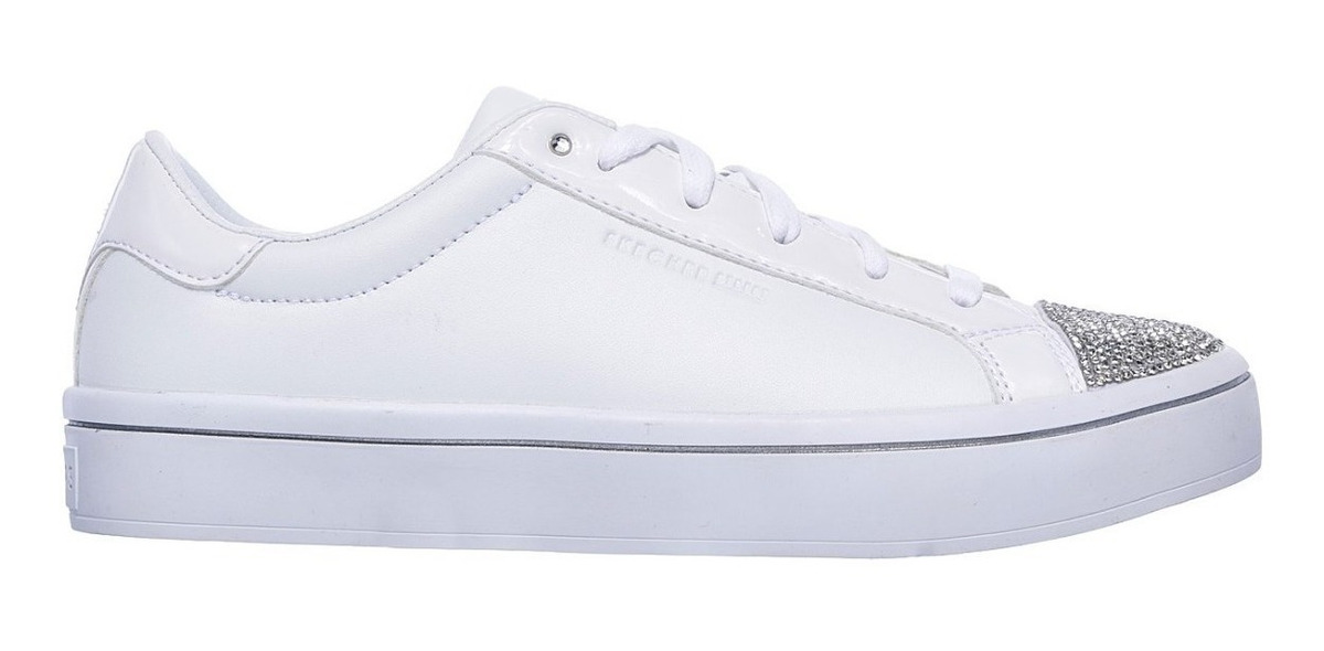 Skecher Street – Skechers On Point Mujer Blanco
