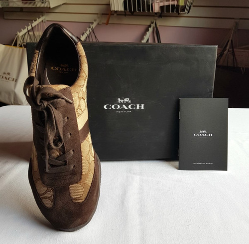 tenis sneaker coach kelson hay 2 colores original  en caja