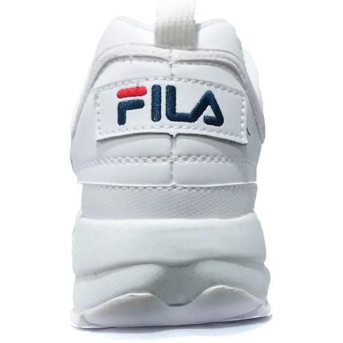 tenis sneaker fila disruptor ft original no brasil envio já